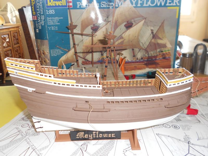 le Mayflower de Revell au 1:83  - Page 2 289264DSCN9568
