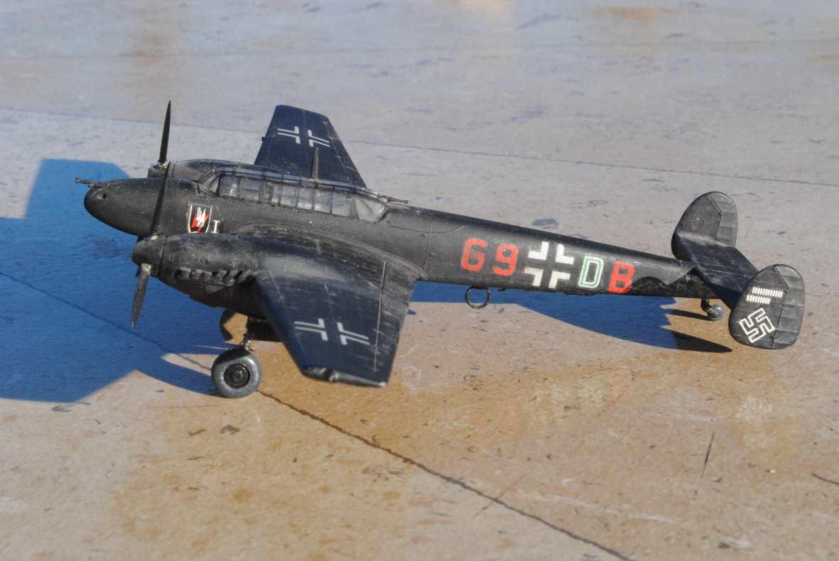 Bf 110 C D E 289659110cAirfix