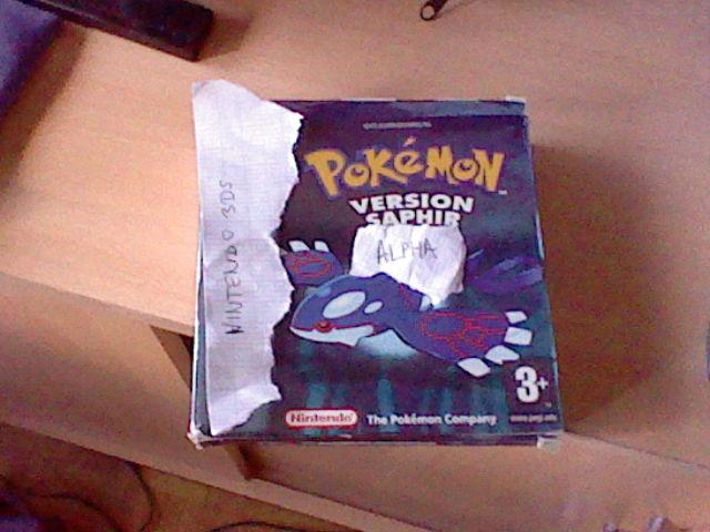 Pokémon Version Rubis Omega / Saphir Alpha 291183HNI0006