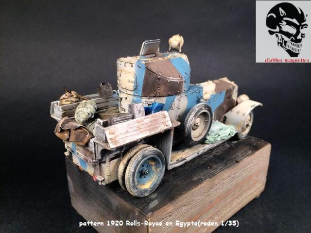 Pattern 1920 Rolls-Royce MK1 en Egypte - (Roden 1/35) 292377finROLS007