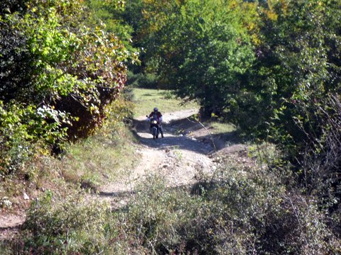 Gros trail et ++ en balade  à Axat , samedi 4 Octobre - Page 2 292559SDC19159