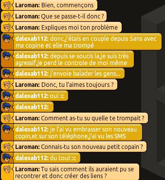 Rapports d'Action RP de Laroman 293385RP31