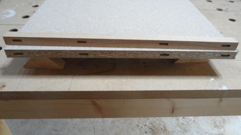 Création d'un meuble en chêne pour le salon 293867SAM1633