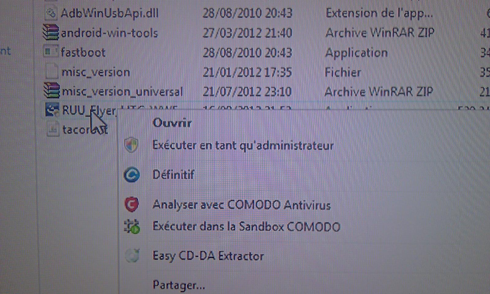 [Tuto] Downgrade vers GB, passage en S.Off, installation Leedroid GB 2.2.0 (en images) 294244DowngradeHC21