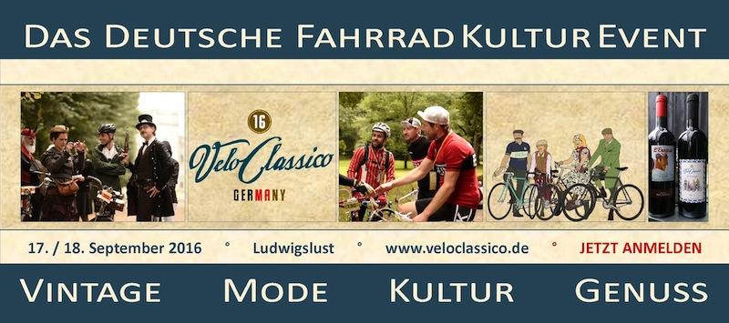 Velo CLASSICO  GERMANY 17 et 18 septembre 2016 295190Veloclassico800x355