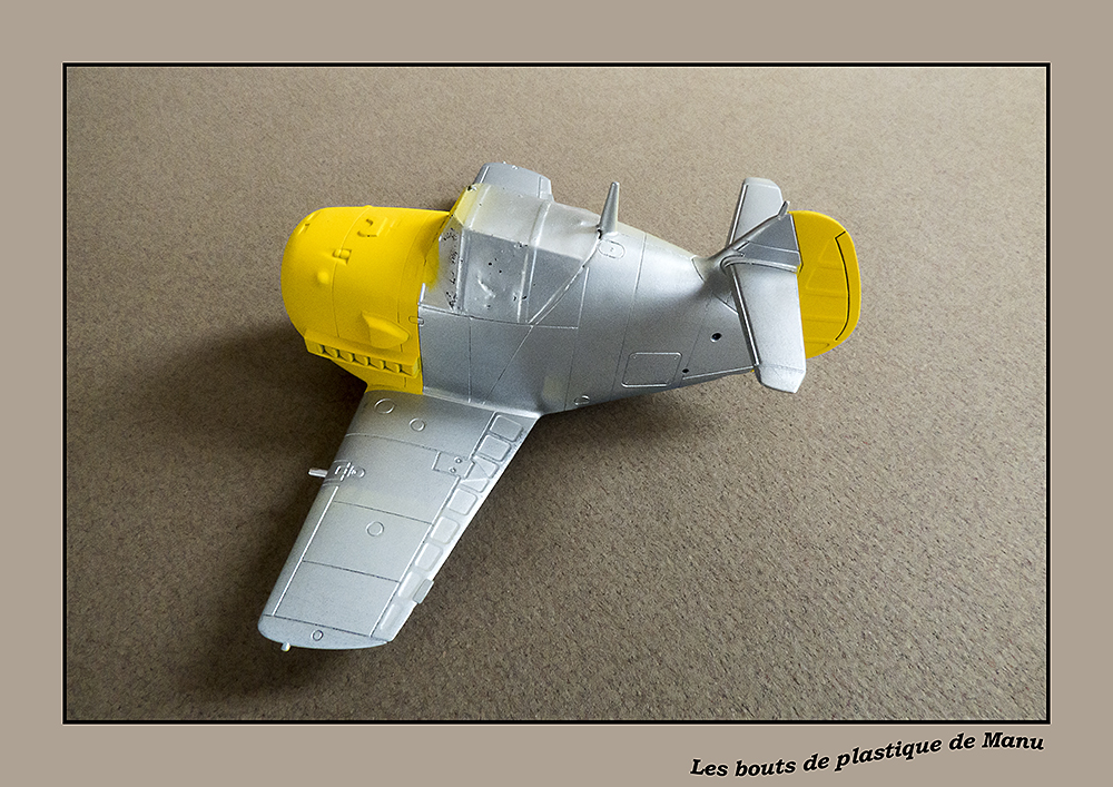 Bf 109 Tiger Model egg plane-FINI ! 2954312733