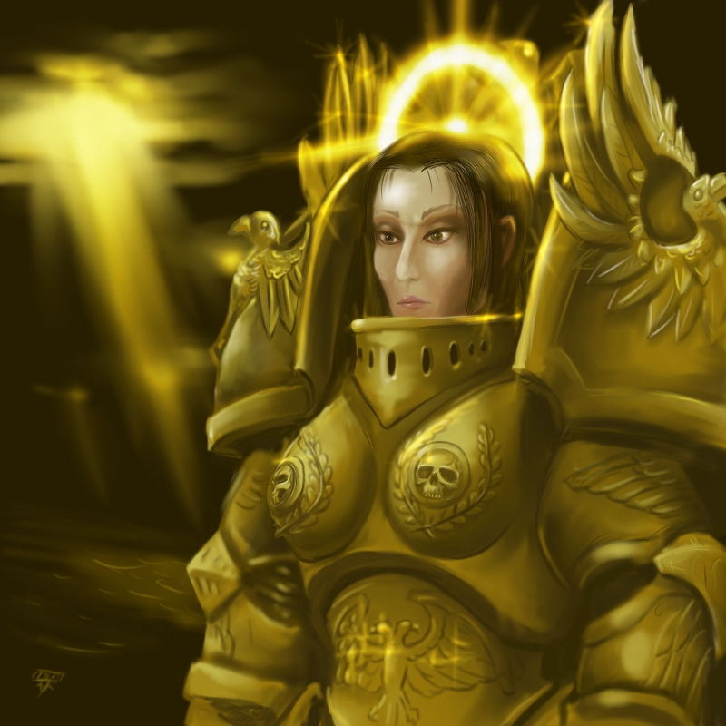 [W30K] L'Empereur de l'Humanité / The Emperor of Mankind 295690GodEmperorofMankindOniontrainWarhammer40K
