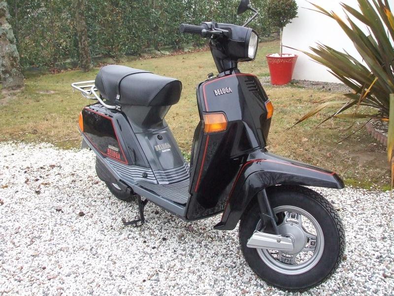 Un petit scooter Japonais , le Yamaha 80 Béluga de 1982... 295805Yamaha80Bluga1987restaur004