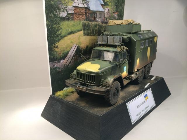 ZIL-131 KShM (Ukraine Army°) 1/35 ICM 295930finZIL002