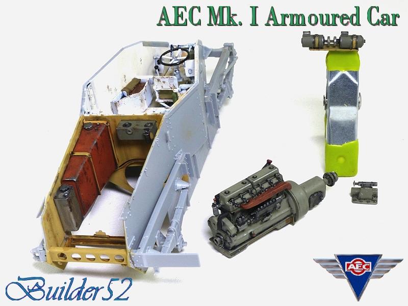 AEC Mk.I Armoured Car - Lybie 1942 - Miniart 1/35 - Page 2 296537P1050104