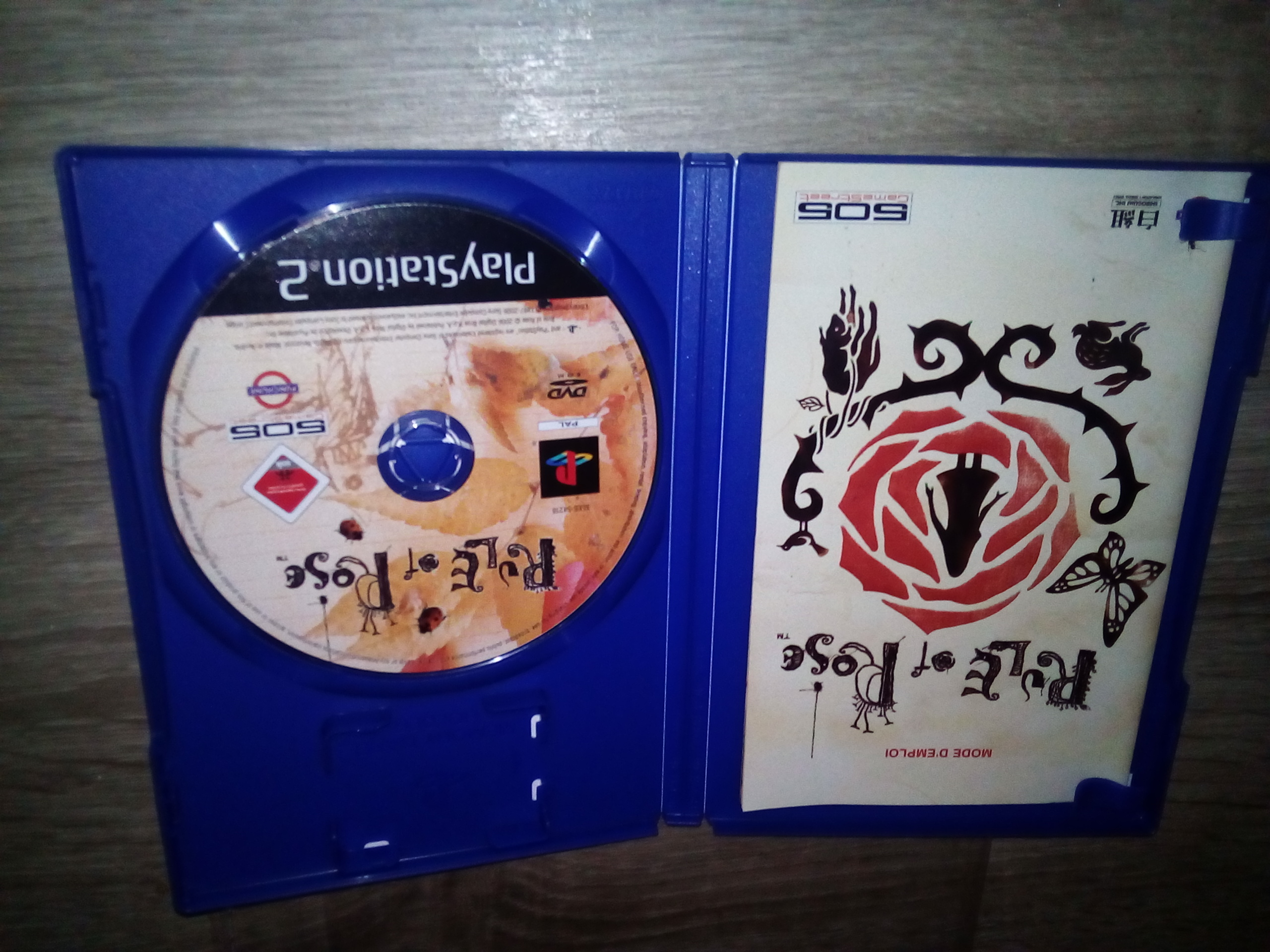 [VDS] Rule of rose fr PS2 296863IMG20171226215712