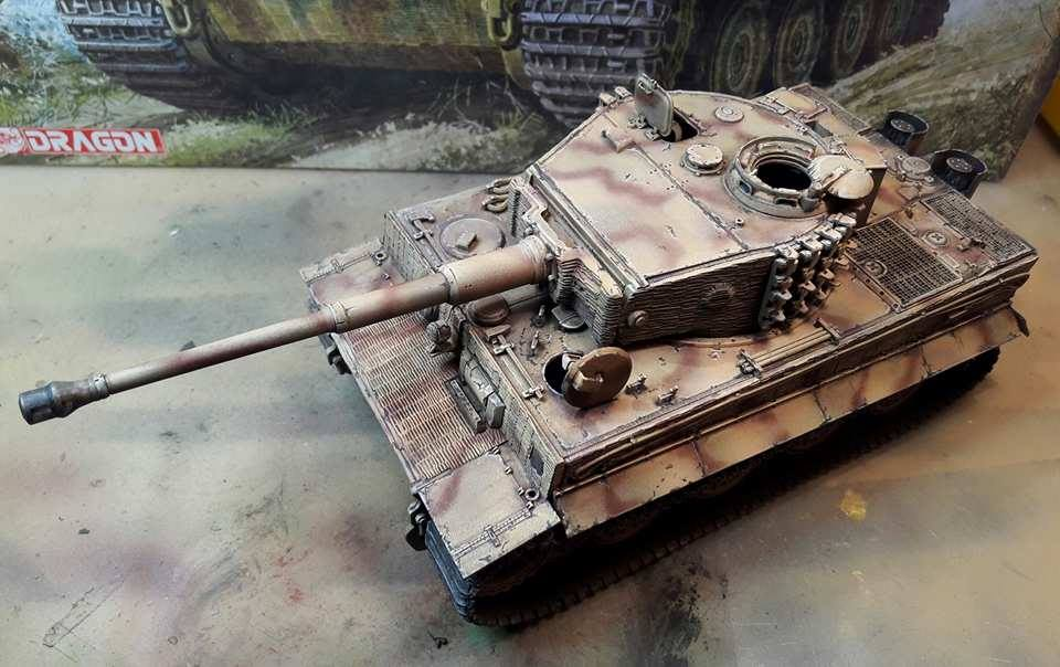 Tiger I Late production - Normandie 1944 - Dragon - 1/35 - Page 2 2970371797434910210955536058918710558481n