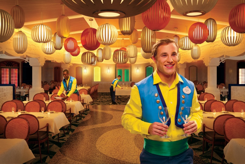 [Disney Cruise Line] - Transformations Disney Magic (2013) & Disney Wonder (2016) et construction de trois nouveaux paquebots (mise en service en 2021, 2022 et 2023) 298326dining1