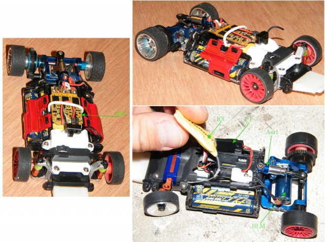 proto mr02 brushless , proto brushed , carro lola perso a leds sans fils  298614mzbl1