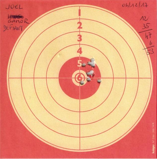 Tests plombs avec carabine Gamo Replay 298835GAMOREPLAYDEFIANT