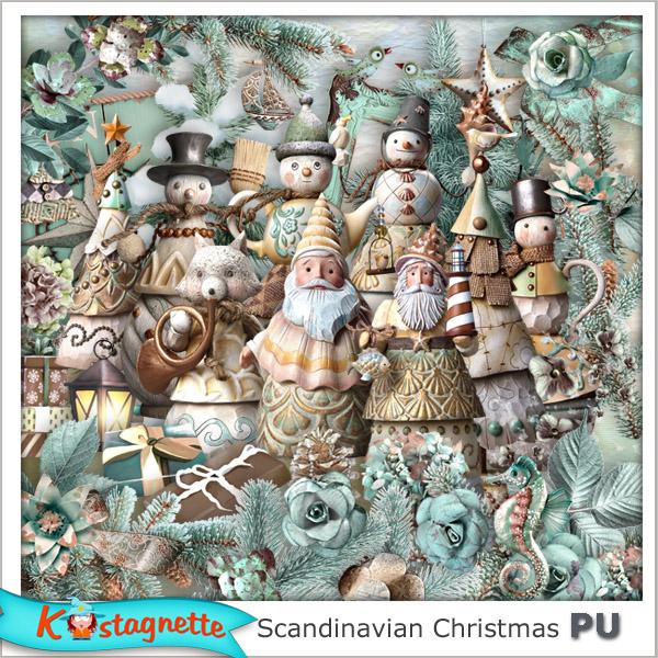 Collection Scandinavian Christmas de Kastagnette + Promo et freebie 299070831