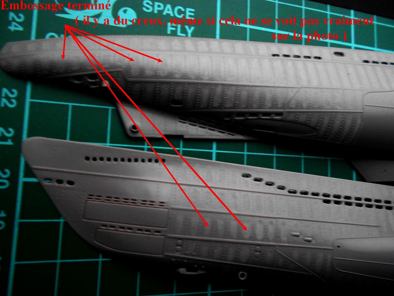 U-Boot type VII D Minenleger     Revell     1/144ème 299367DSCN1613
