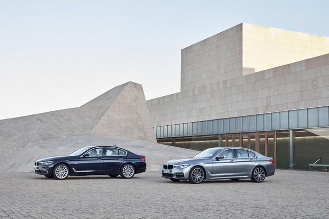 La nouvelle BMW Série 5 Berline. Plus légère, plus dynamique, plus sobre et entièrement interconnectée 300056P90237210highResthenewbmw5series