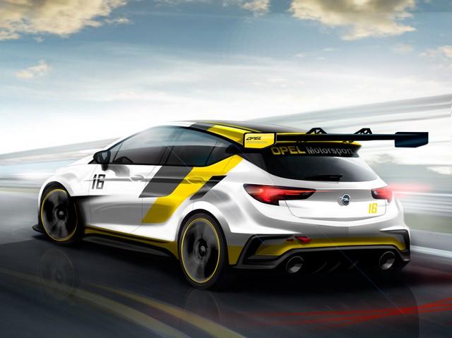 Opel développe une voiture de course pour le TCR International Series de 2016 300194OpelAstraTCR296753