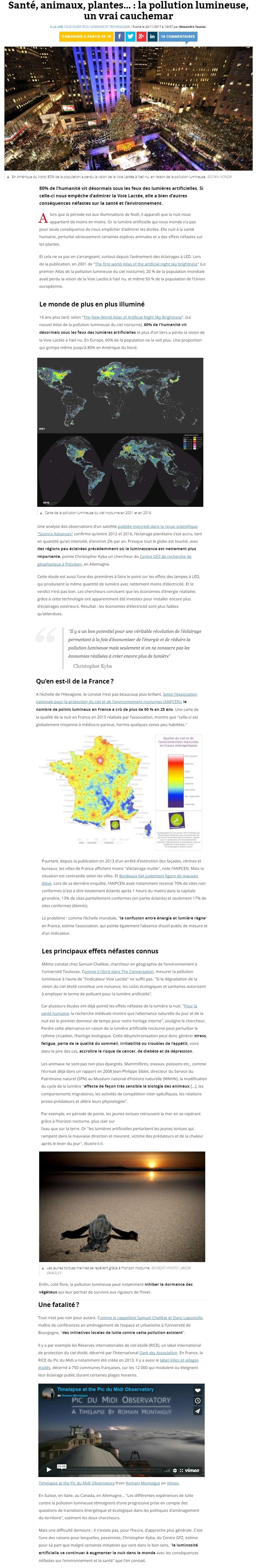 ANPCEN : luttons contre la pollution lumineuse - Page 3 300344SudOuest1