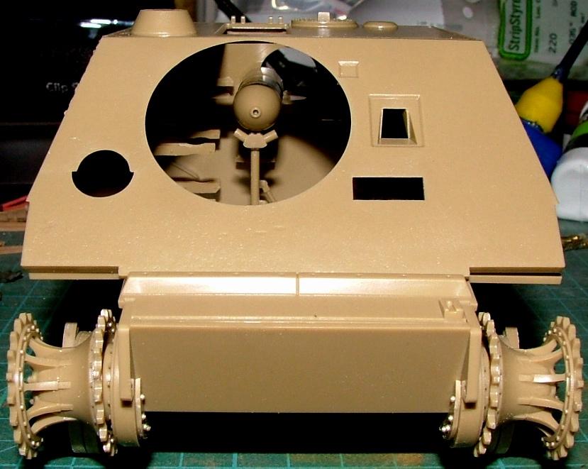 STURMTIGER [ TAMIYA 177 ] +Photodécoupe [ EDUARD 35381 & 35366]  (Montage en cours) 300888DSCF0602