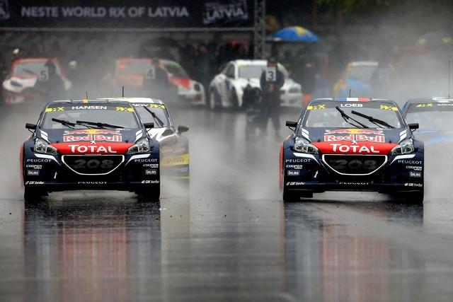 Rallycross - Sébastien Loeb remporte sa première victoire au volant de la PEUGEOT 208 WRX ! 30110557f0f3a462f50