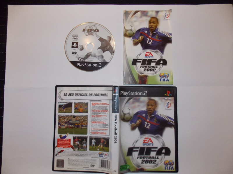 Fifa Football 2002 301579Playstation2FifaFootball2002