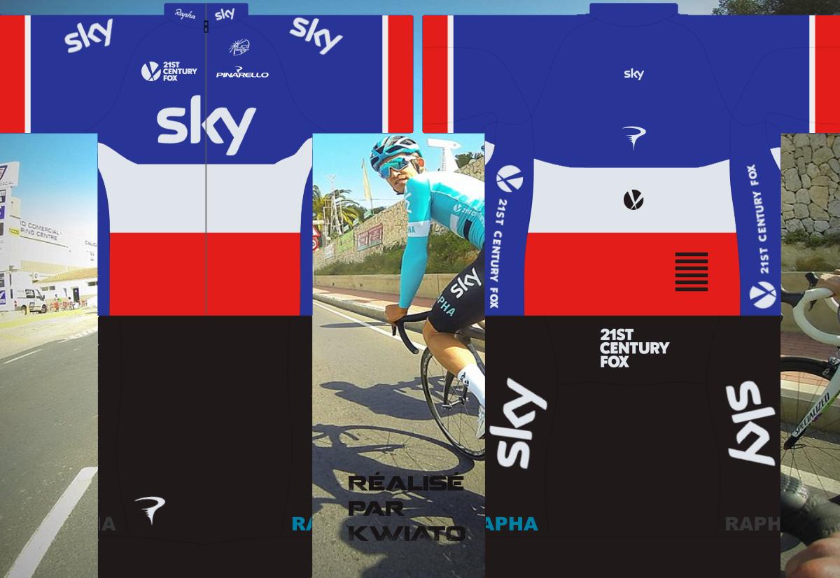 SKY Pro Cycling 302679skymaillotfra