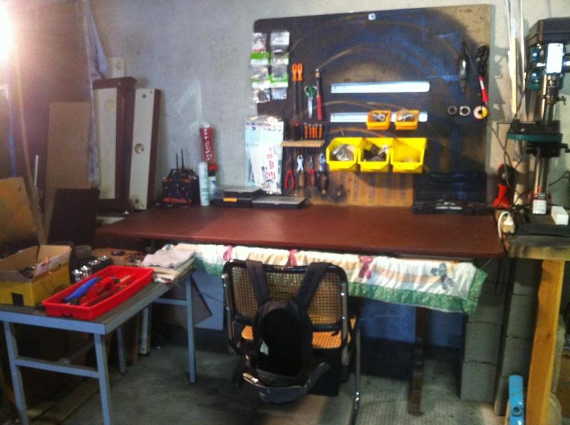 Mon garage pour 1/10 et 1/1 303437963