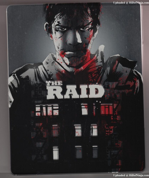 The Raid : Edition Collector 24/10/12 303888UKTheRaidFronta