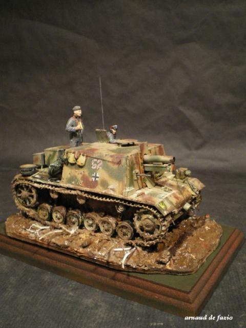 sturminfanteriegeschutz (sIG 33 B)     pz.regt.23 en 1943 sur le mious 304062IMGP1838