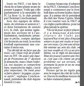 FSGT Fédération sportive et gymnique du travail /  FOOT ENTREPRISE EN PROVENCE  - Page 3 304523Copiede1