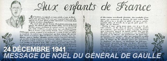 Noel pendant la seconde guerre mondiale 304988201012messagenoeldegaulle24decembre1941
