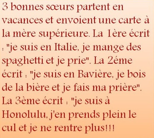 HUMOUR - blagues - Page 5 306029627415437205423355471737807903n