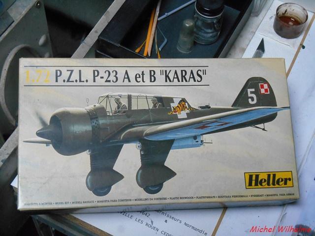 PZL 23 Karas     HELLER 1:72 306630DSCN9628Copier