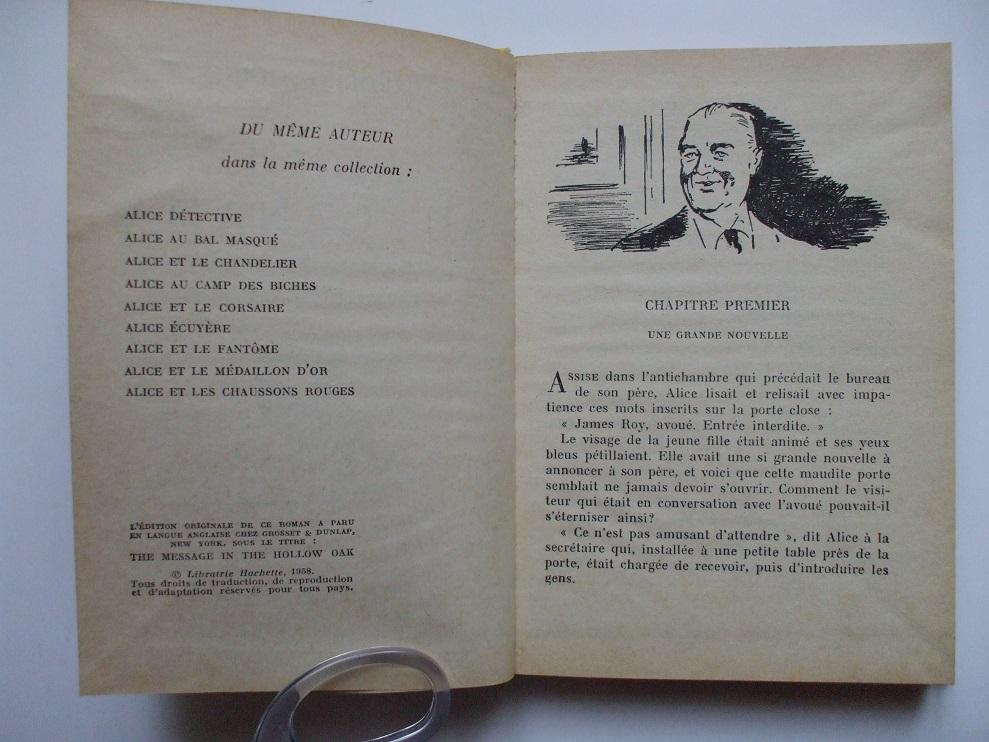 Les anciennes éditions de la série Alice. - Page 2 306650t034