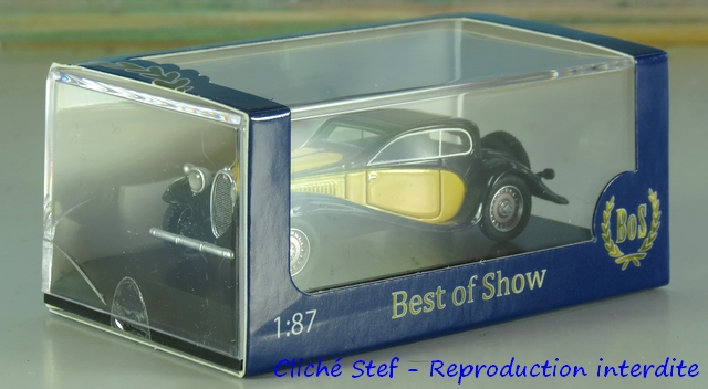 """Wagon porte autos Bugatti """"M. Fritz Schlumpf"""" 307280BOSBugattiT50jauneIMG4507R"""