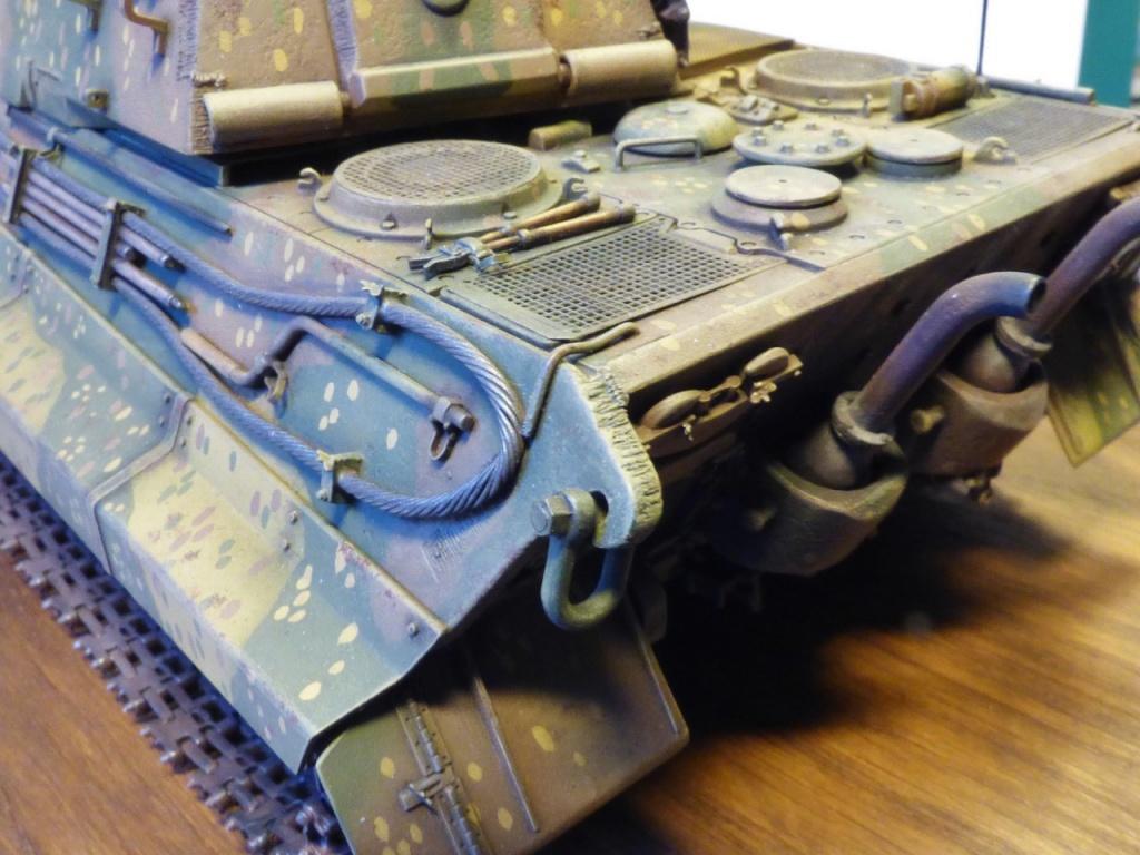 tiger - King Tiger Sd.Kfz.182 Henschel Turret Takom 1/35 307355P1060446Copier