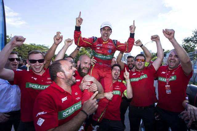 Le pilote Audi Lucas di Grassi est champion de Formule E 307369A179378medium