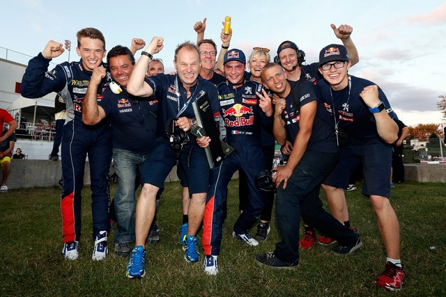 Rallycross : La PEUGEOT 208 WRX et le Team Peugeot Hansen triomphent au Canada ! 307952wrx20150808128