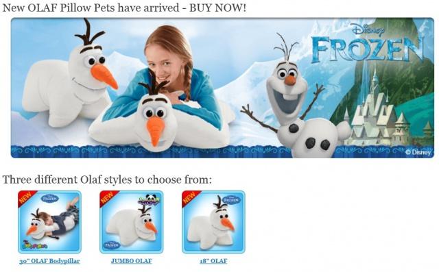 Pillow Pets Disney 308386pillow1