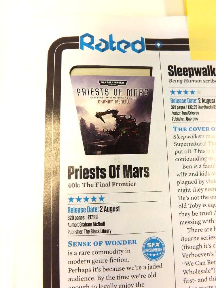 Priest of Mars de Graham McNeill - Page 2 308431priestofmars5stars