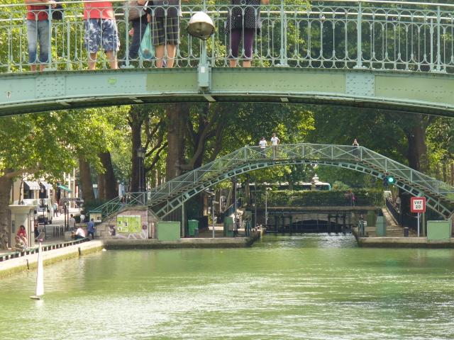 Balade sur le canal St MArtin à PAris (75) 309767P1070511