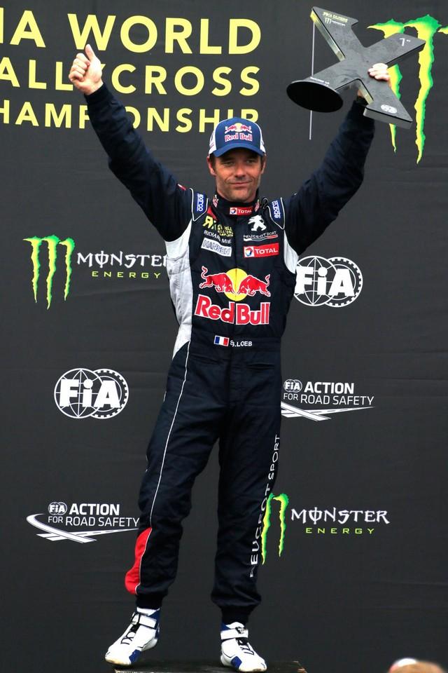 Rallycross - Sébastien Loeb remporte sa première victoire au volant de la PEUGEOT 208 WRX ! 310003wrx201610020141