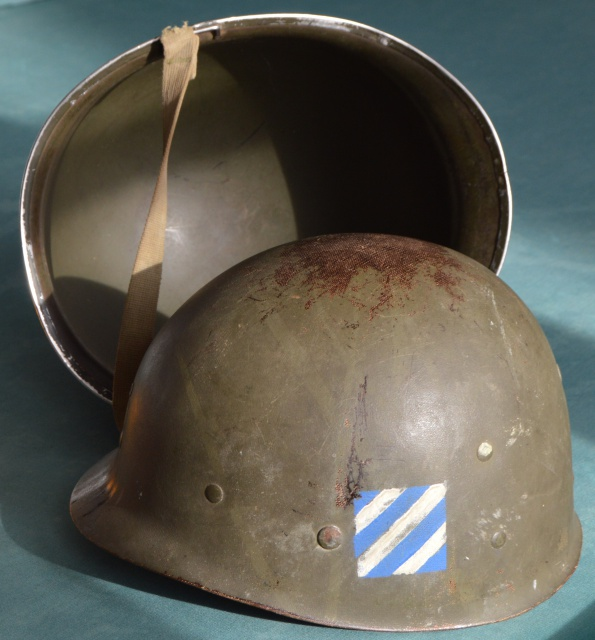 Third division rock of the Marne  310013Casque3rdID17