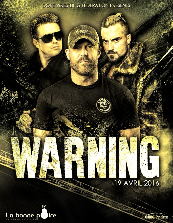 Petit concours - DWF 1st PPV Poster 310363DOPEWarning