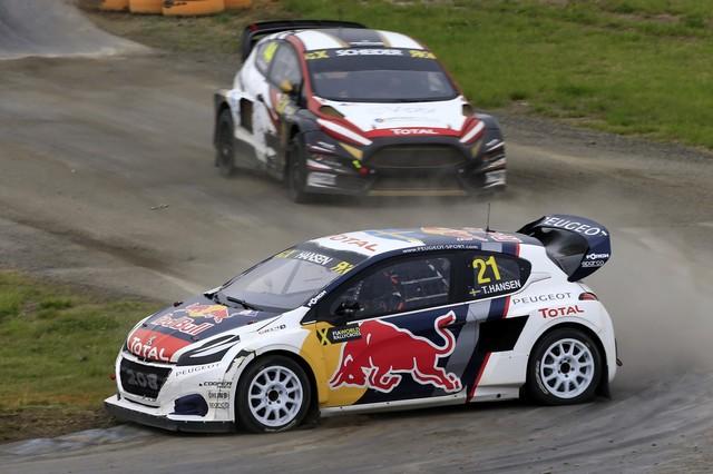 Rallycross - Les PEUGEOT 208 WRX dans le match, Timmy Hansen sur le podium à Hockenheim 312130590e12c119704