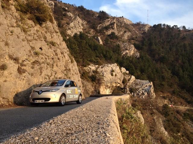Renault ZOE truste les quatre premières places du 6ème Rallye Monte-Carlo ZENN 3127486722016