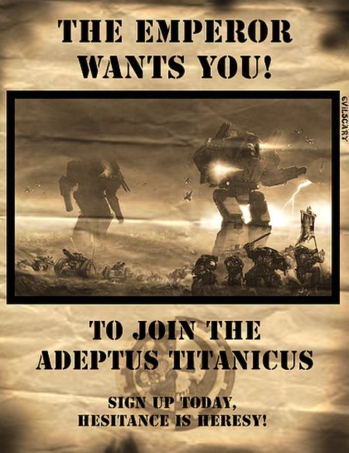 Nouvelle page facebook : Burn the Heretic, Kill the Mutant, Purge the Unclean 315705titans