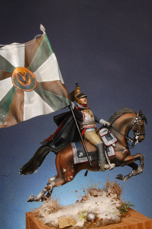 Jacquemin et le drapeau de Arkhangelogorod - Austerlitz 1805 315806FrancoisJacqueminAusterlitz180565